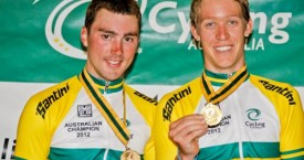 Cam Meyer and Leigh Howard win Aus Madison title