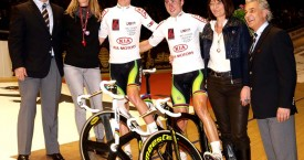 Cam and Leigh win Berlin 6 day