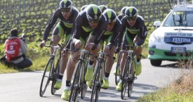Green Edge win opening Team Time Trial at the Tirreno Adriatico