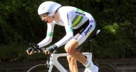 Damien Howson wins Oceania U23 Time Trial Title
