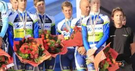 Cameron Meyer claims Bronze Medal World Championships Elite Men's TTT
