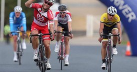 Malcolm Rudolph wins 11th stage of the tour of Murray River