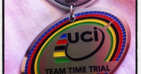 Melissa Hoskins claims silver medal in the Elite Women Team Time Trial