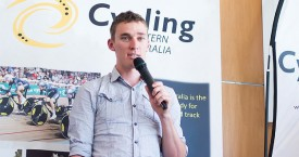 Anthony Giacoppo wins WA Cycling Sports Star of the year