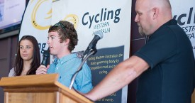 Bradley Linfield wins U19 WA road rider of the year
